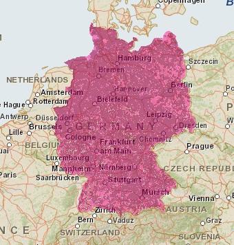 d1 netzabdeckung karte Telekom: Netzabdeckung & Frequenzen