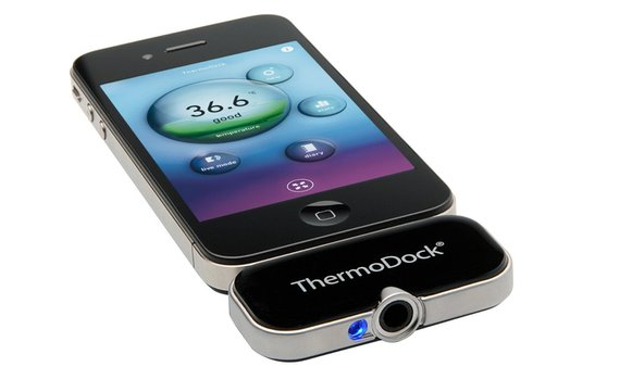 ThermoDock: iPhone als Fieberthermometer (Video)