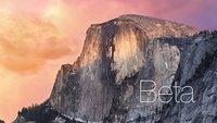 OS X Yosemite: Vorschau 6 für Entwickler erhältlich