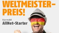 Allnet Starter im D2-Netz (100 Min, 100 SMS, 200 MB) für 1,95 € im Monat