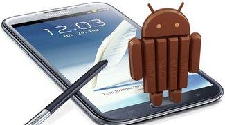 Samsung Galaxy Note 2 erhält Update auf Android 4.4.2