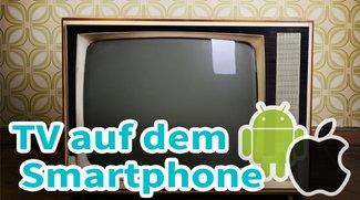 Mit dem Smartphone kostenlos fernsehen: So geht es (Android + iOS)