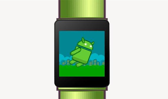 Das erste Android Wear-Spiel ist ein Flappy Bird-Klon