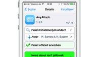 Für iOS 7.1.2: AnyAttach und Safari Upload Enabler verfügbar