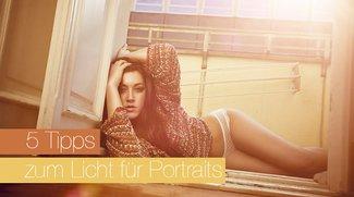5 einfache Tipps zum Licht für Portraits