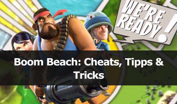 Boom Beach: Cheats, Tipps & Tricks (Android, iOS)