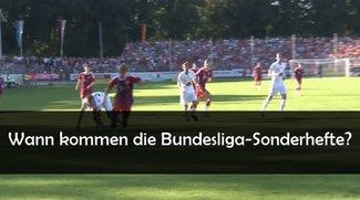 Bundesliga Sonderhefte 2016/2017 - Wann kommen Kicker, Sport Bild, 11 Freunde und Co.?