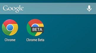 Chrome Beta: Update mit Material Design und Moonshine-Icon [APK-Download]