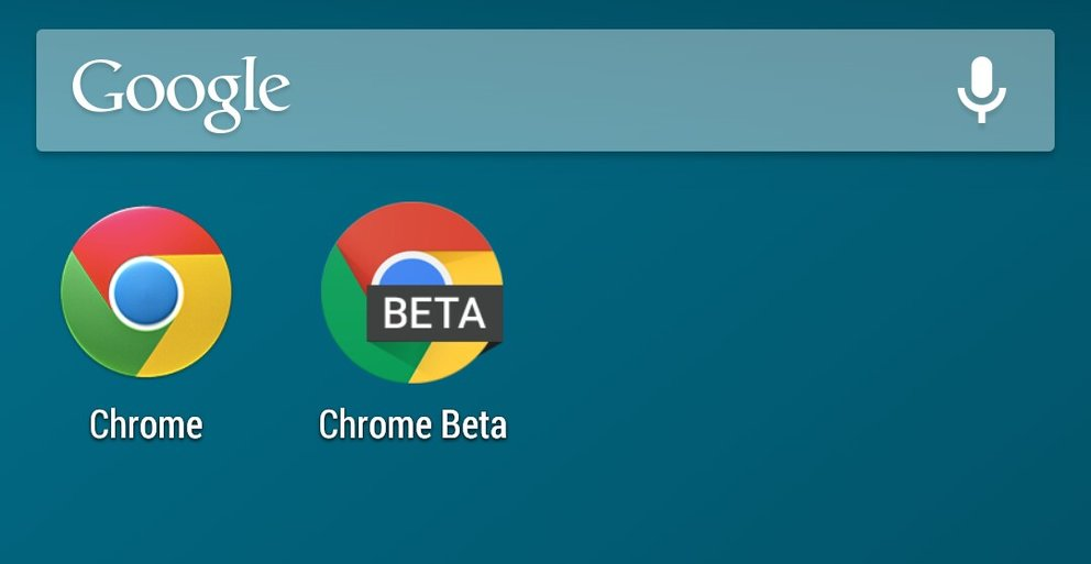 Chrome Beta: Update mit Material Design und Moonshine-Icon