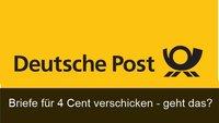 Weltpostvertrag: Briefe für 4 Cent verschicken – geht das?