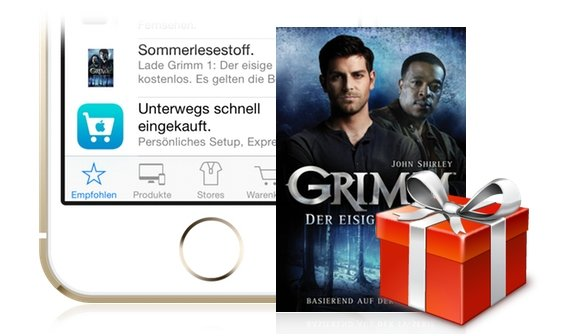 Apple Store verschenkt Buch im Wert von 4,99 Euro