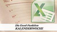 Excel: Kalenderwoche aus Datum berechnen