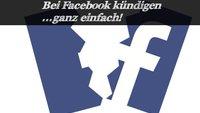 Das Konto bei Facebook kündigen - in einfachen Schritten
