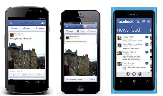 Facebook Mobile: Unterwegs sozial interagieren