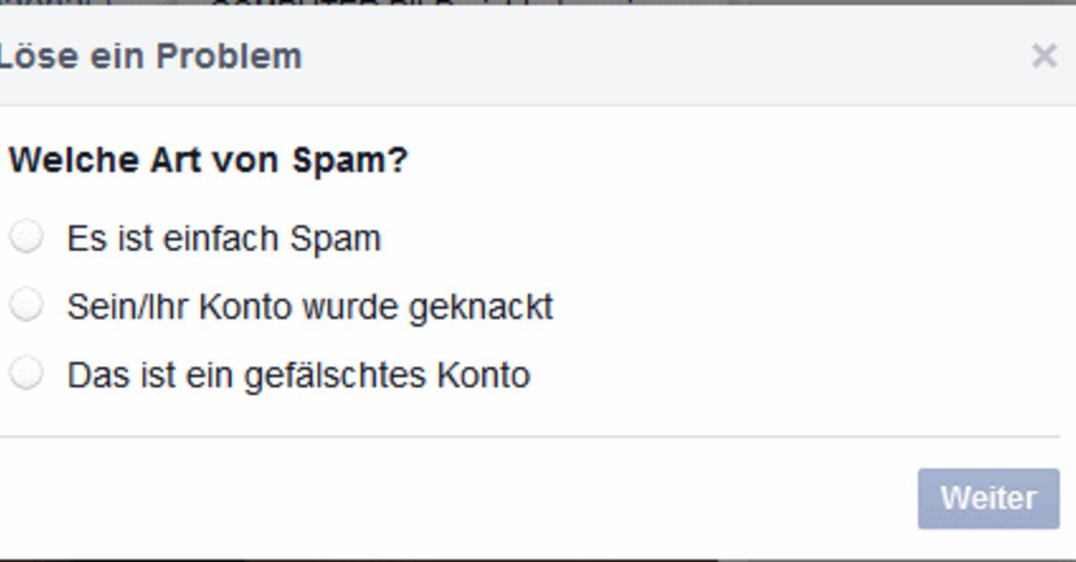 was heißt spam melden