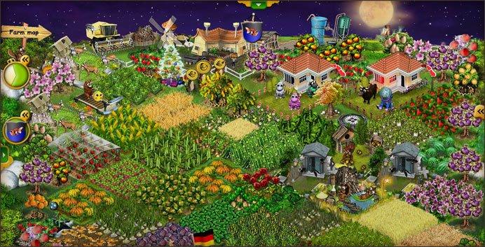 Farmerama: Bestellt eure Felder und steigert eure Erträge!