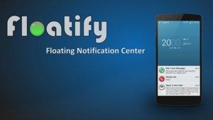 Floatify: Benachrichtigungen auf dem Sperrbildschirm & mehr (Ab Android 4.3)