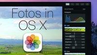 Fotos in OS X Yosemite: Der iPhoto- und Aperture-Nachfolger im Überblick