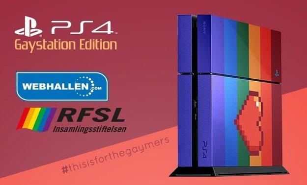 "PlayStation 4: Händler versteigert exklusive ""GayStation Edition"""