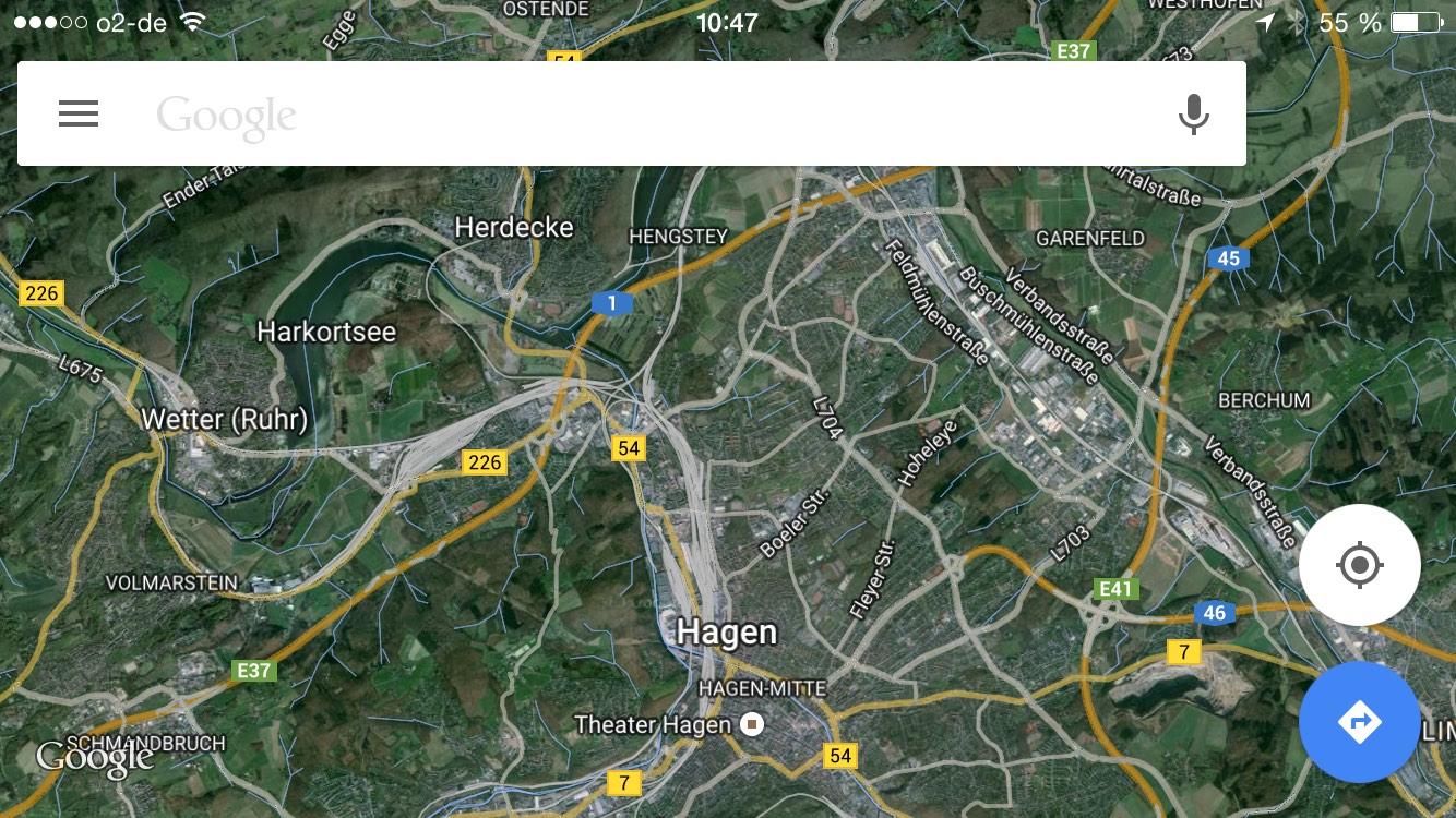 Entfernungsmesser Maps : Google maps für ipad iphone infos und kostenloser download giga