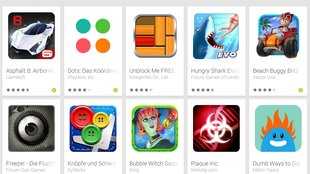 Android-Games: Play Store-Kollektion listet offline spielbare Titel