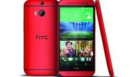 HTC One (M8) ab August in Rot erhältlich