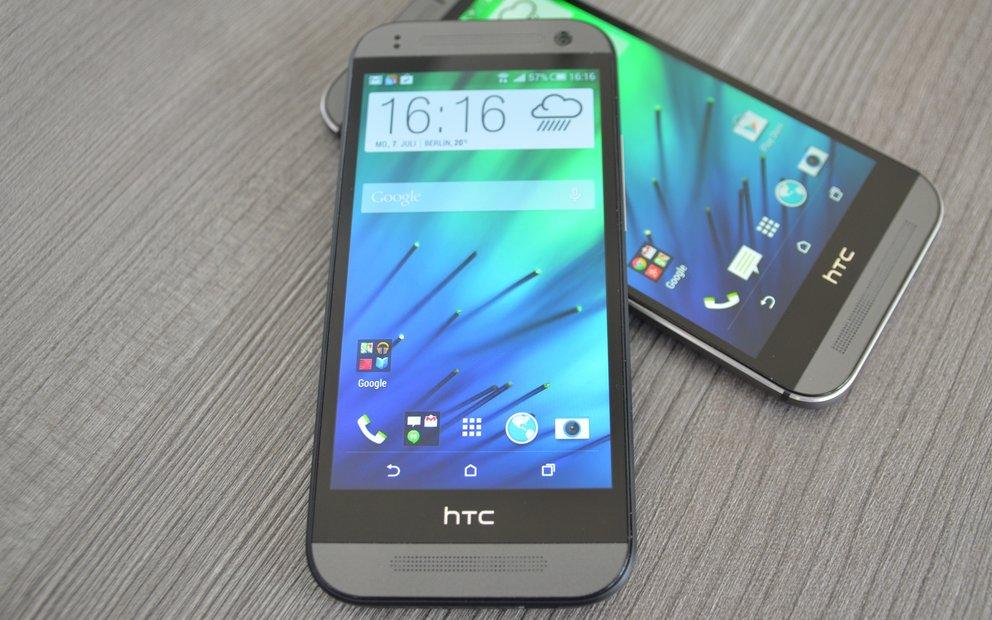HTC One mini 2 im Test: Mittelklasse für Stilbewusste