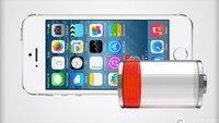 iOS 8 und der Akku: Batterieverbrauch anzeigen, Energie sparen