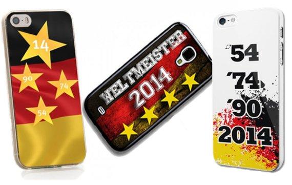 iPhone-Hüllen im Weltmeisterlook