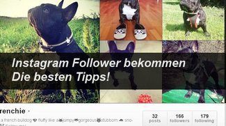 Mehr Instagram Follower, mehr Instagram Likes