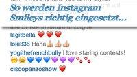 Instagram Smileys: Was geht, wie geht's und was geht nicht?