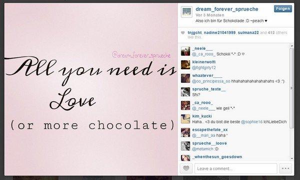 Instagram Spruche Die Besten Spruche Die Besten Tags