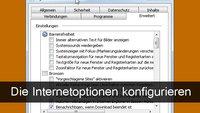 Windows Internetoptionen: Die besten Einstellungen