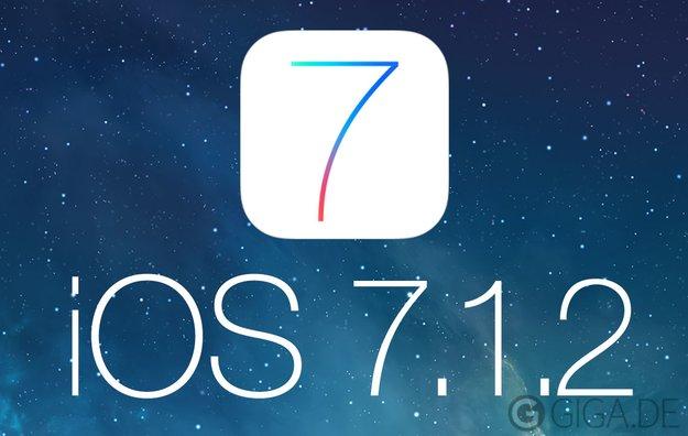 iOS 7.1.2 als direkter Download