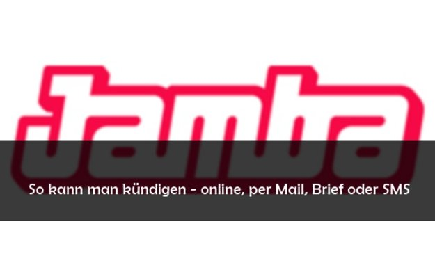 Jamba Abo Kündigen 2021