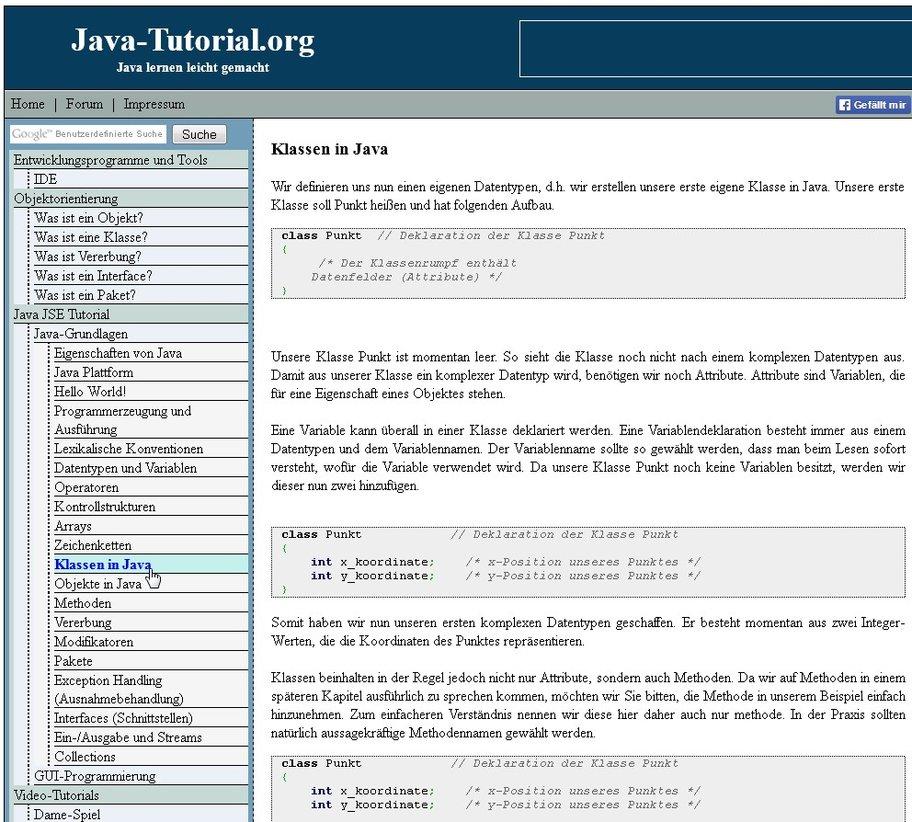 Java programmieren lernen mit einer anderen Herangehensweise
