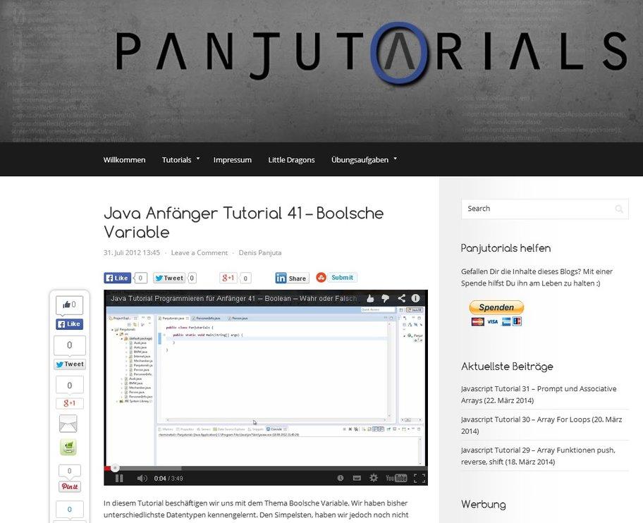 Java programmieren lernen mit Videos