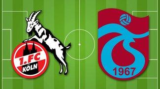 1. FC Köln - Trabzonspor im Live-Stream: das Testspiel in Österreich