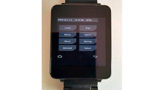 LG G Watch &amp&#x3B; Samsung Gear Live: TeamWin bringt TWRP Custom Recovery auf Android Wear-Smartwatches [Update]