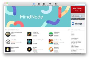 Mac App Store: Download-Shop in macOS