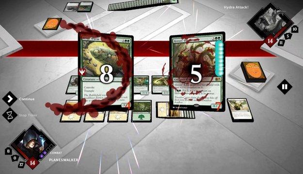 Magic – The Gathering 2015: Trading Card Game-Umsetzung für Android mit besserem Multiplayer erschienen