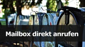 Mailbox direkt anrufen bei Telekom, Vodafone und Co. – so geht's!