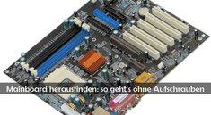 Mainboard herausfinden: Typ und BIOS unter Windows ermitteln