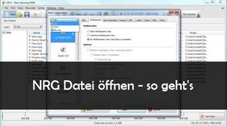 So kann man eine NRG Datei öffnen oder umwandeln