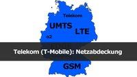 Telekom: Netzabdeckung & Frequenzen