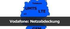 Vodafone: Netzabdeckung und Frequenzen