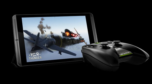 NVIDIA Shield Tablet vorgestellt: 8 Zoll-Gaming-Tablet mit externem Controller und Stereo-Frontlautsprechern
