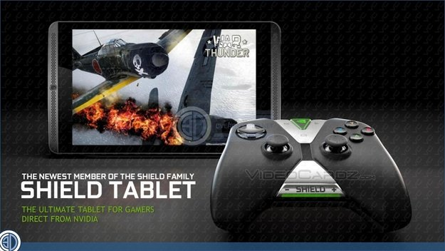 NVIDIA Shield Tablet: Alle Infos zum Gaming-Tablet mit Controller geleakt, ab August auch in Europa