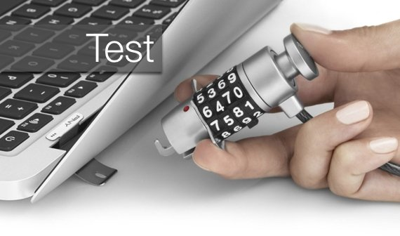 Kensington Lock fürs MacBook: Alternative PNY ThinkSafe im Test