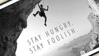 50% Rabatt auf Apple-Poster: Stay hungry. Stay foolish.